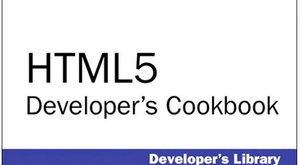 Boekbespreking – HTML5 Developer's Cookbook