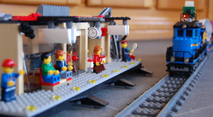 The Internet of (Lego) Trains
